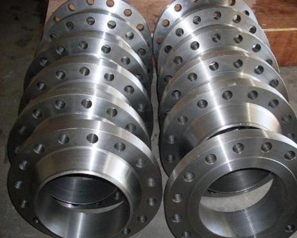 Plate flat welding steel pipe flange