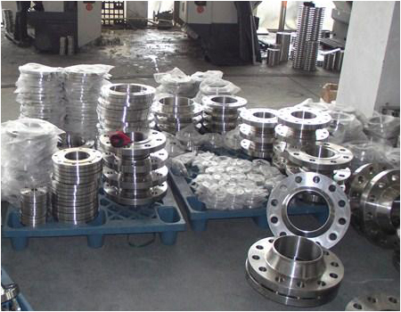 plate flange production process