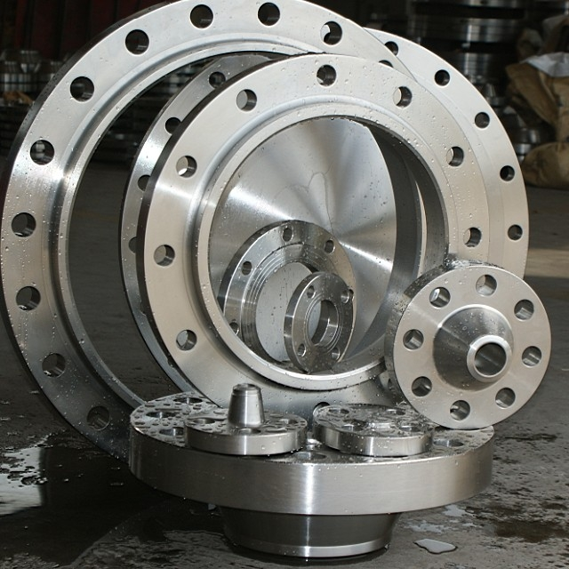 ASME B16.5 Stainless Steel Plate Flange (YZF-E429)