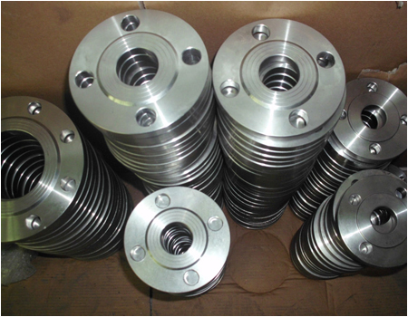 DIN 2507 Dn80 Stainless Steel Plate Flange