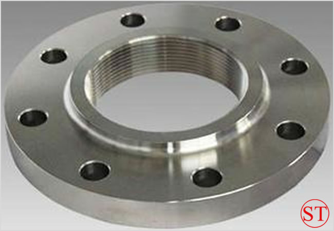 ASME A234 Sch10S RF Stainless Steel Threaded Flange