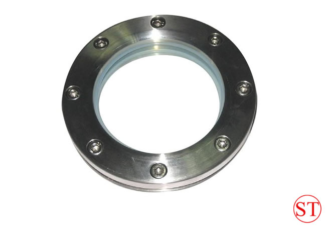 ASME 304 stainless steel plate flange